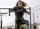 Captain Marvel — Action Clip: 'Train Fight'